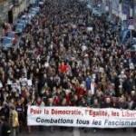 image manifestation populaire Paris