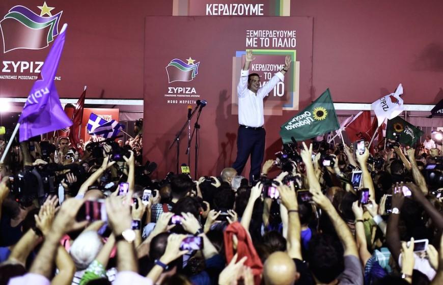 Victoire Syriza 20 sept 2015