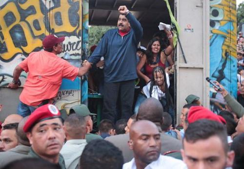 Campagne Maduro Venez