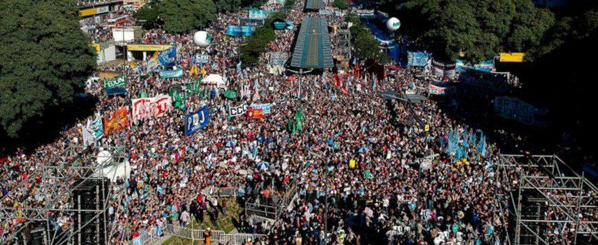 Argentine Manif contre Macri 25 mai 2018