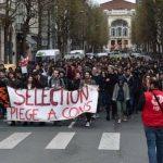 France Manif lycéens avril 2018
