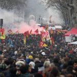 Paris manif cheminots 9 avril 2018