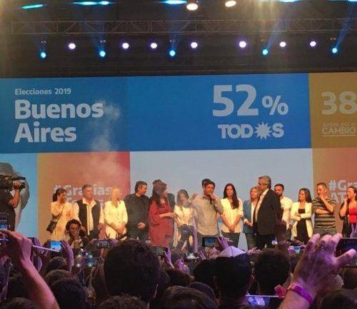 Acto resultados elecciones