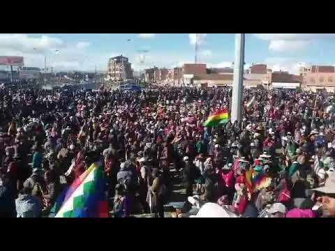 Movilización de El Alto